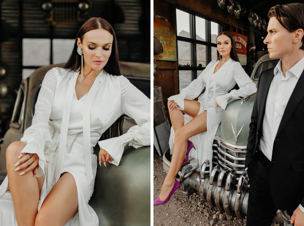 Свадьба Алены Водонаевой и Алексея Косинуса в Лас Вегасе
